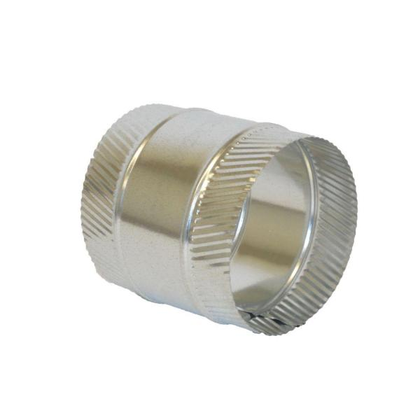 4 in. Flex and Sheet Metal Duct Splice Connector Collar