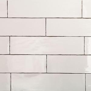 Catalina White 3 in. x 12 in. x 8 mm Ceramic Wall Subway Tile (44-Pieces 10.76 sq.ft./case)