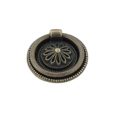 Traditional 1-1/2 in. (38 mm) Antique English Cabinet Ring pull
