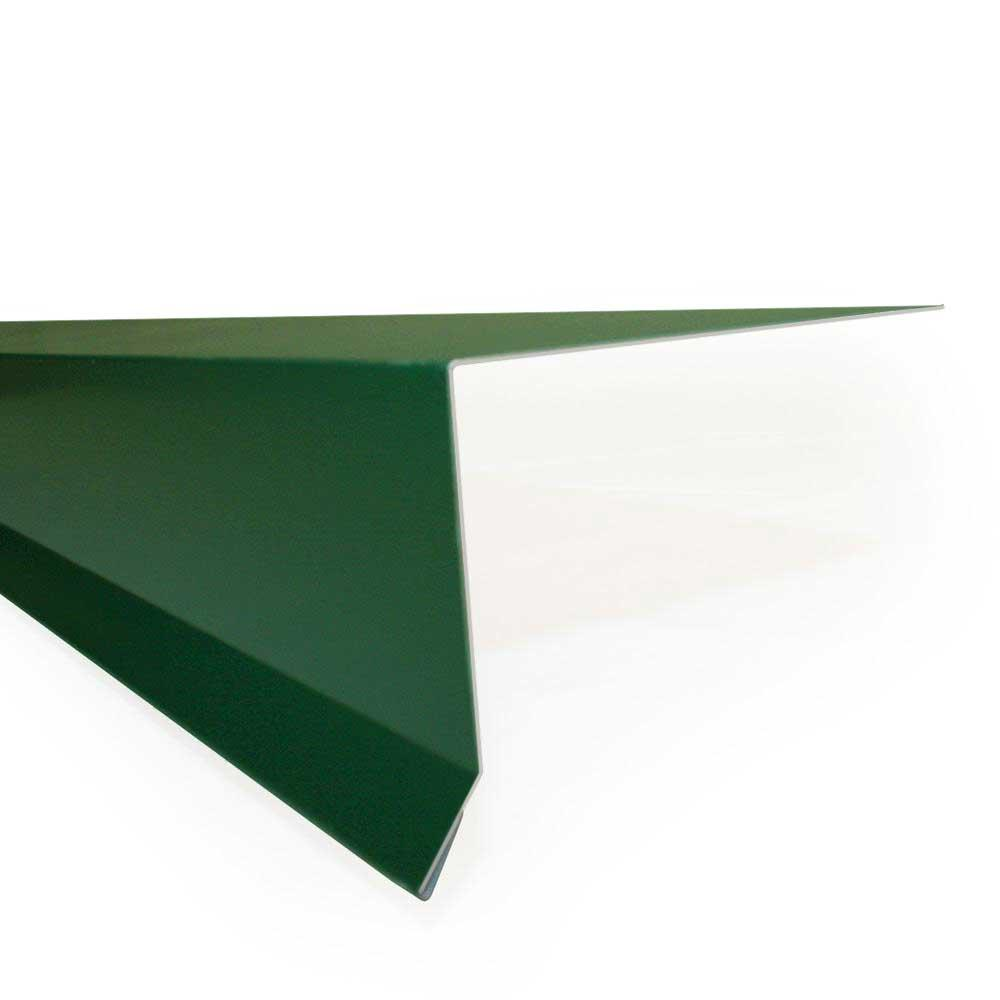 4 in x 10 ft. 26GA Forest Green Eave Flashing
