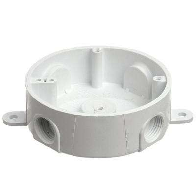 4 in. Round Weatherproof T-Box (Case of 8)