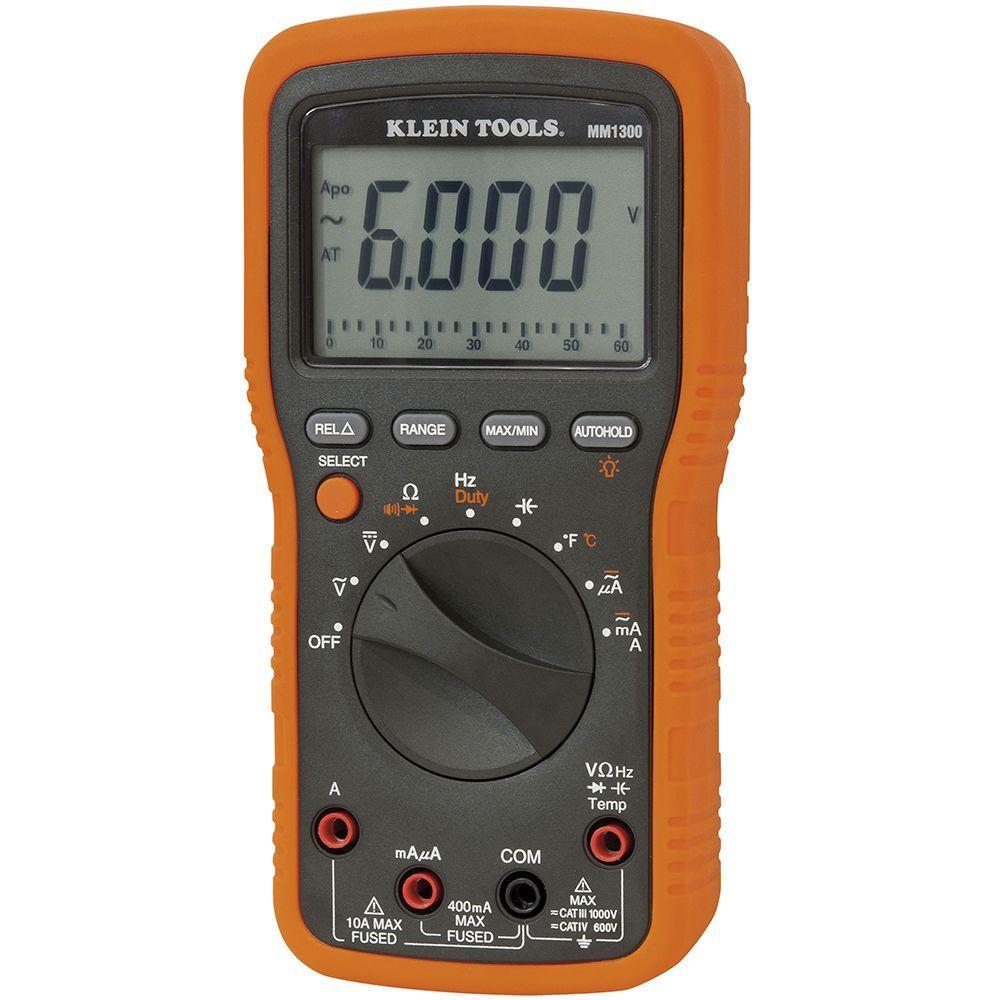 Klein Tools Electrician/HVAC Manual Multimeter