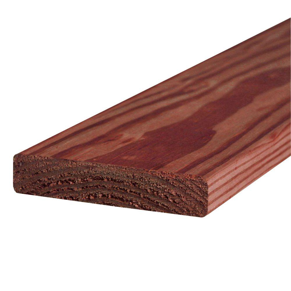 Standard Better Red Brown Pressure Treated Lumber