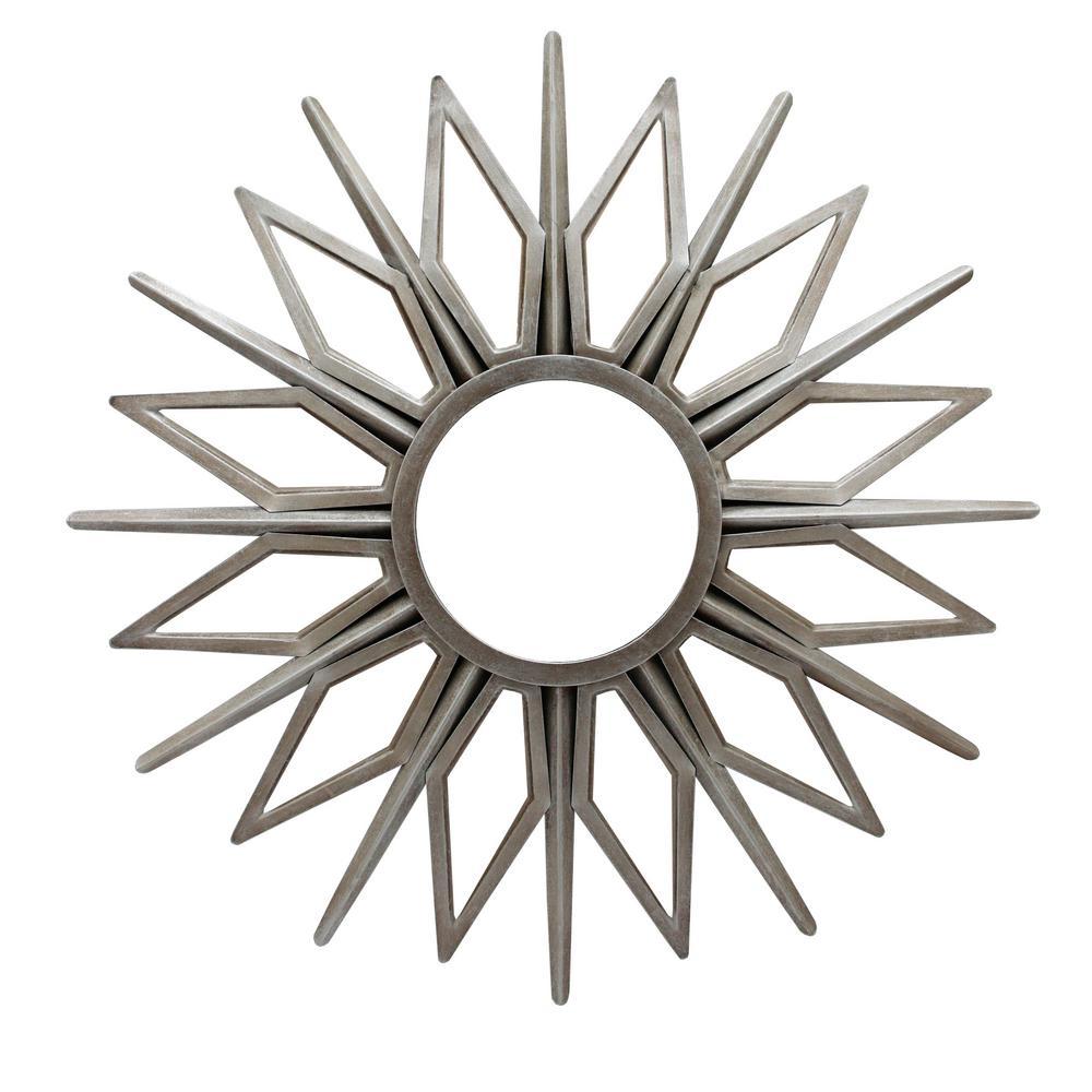 Solano Silver Wall Mirror