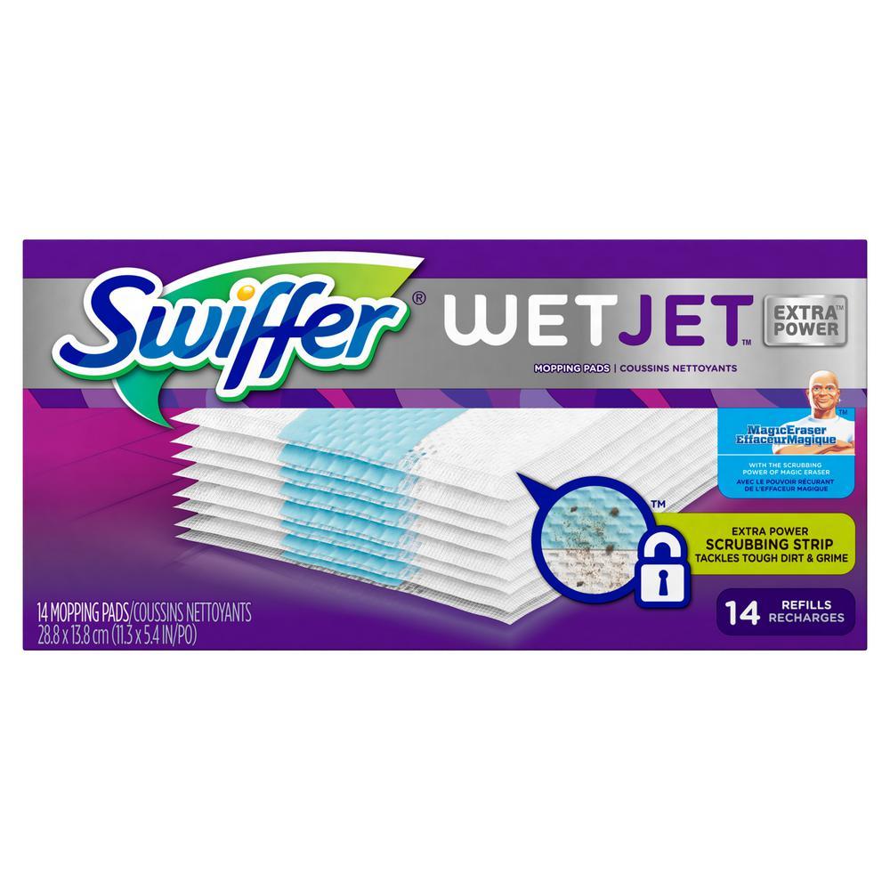 34e0c15dff0 Swiffer WetJet Extra Power Pad Refills (14-Count)-003700081790 - The ...