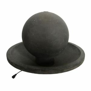 MPG 22 inch Aged Granite Stone Ball Fountain by MPG