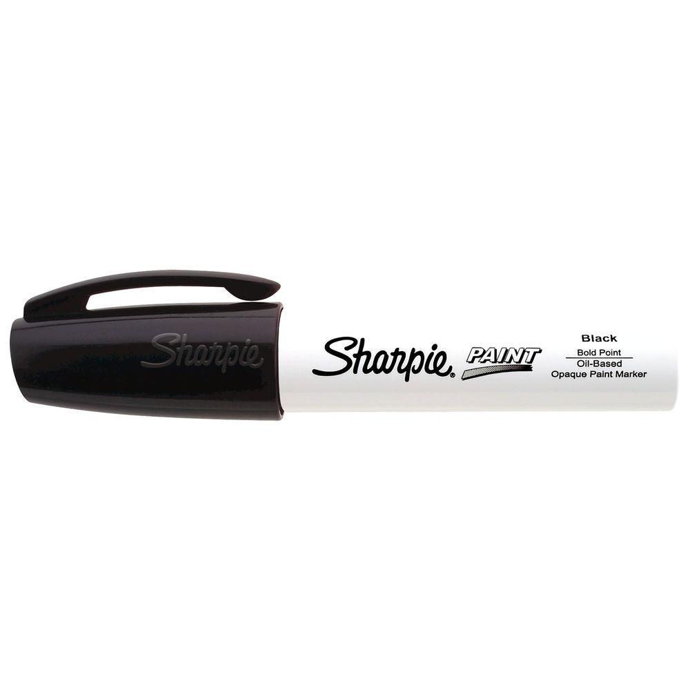 Sharpie Black Bold Point Oil-Based Paint Marker