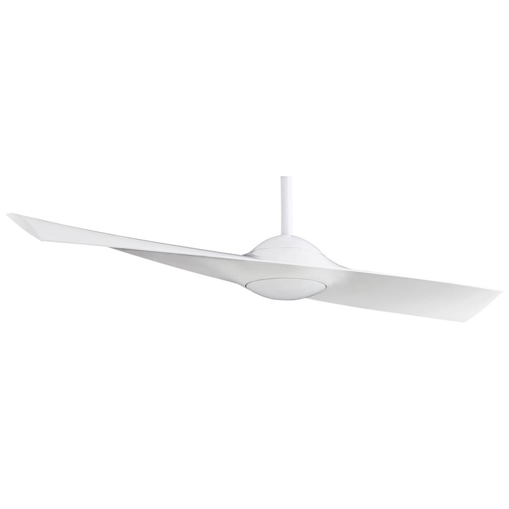 Minka-Aire Wing 52 in. Indoor White Ceiling Fan with Remote Control
