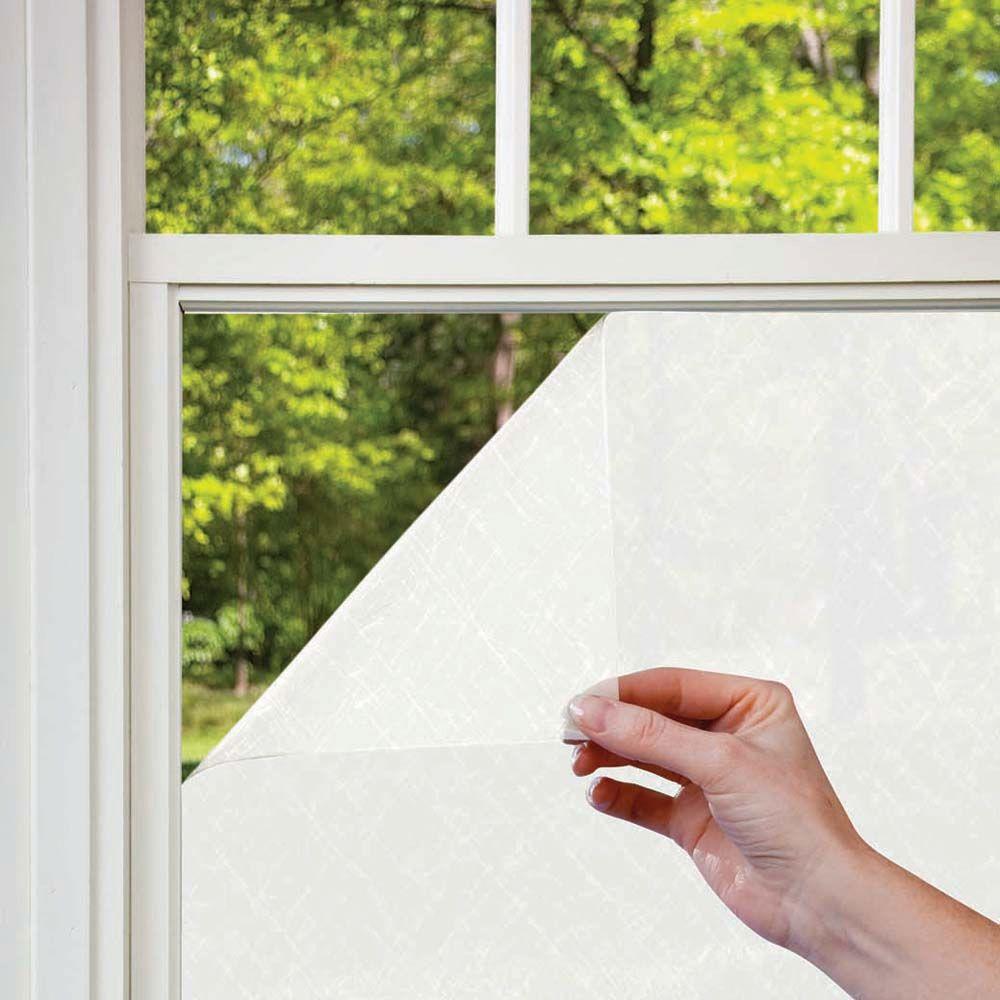 null 3 ft. x 6.5 Privacy Heat Control Fiberglass Pattern Window Film-DISCONTINUED