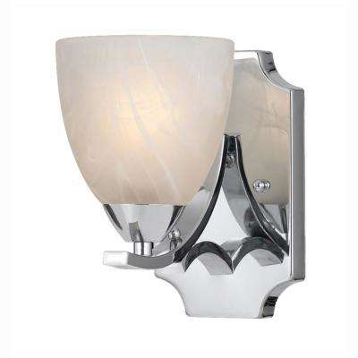 Berlin 1-Light Chrome Sconce