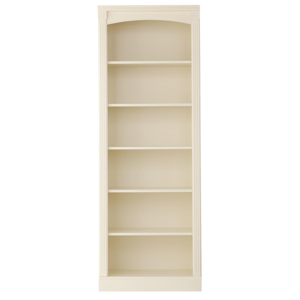 Edinburgh Ivory 6 Shelf Bookcase