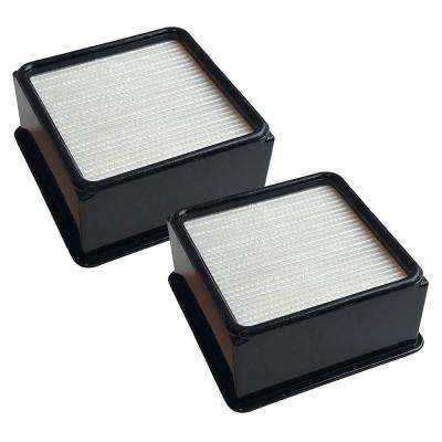 2-Pack Replacement F66 Filters and Foams, Fits Dirt Devil, Compatible with Part 304708001