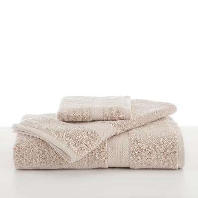 Abundance Cotton Blend  Bath Towel in Ecru