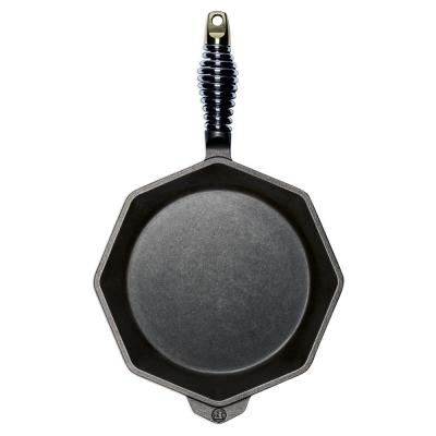 Cast Iron Collection 10 in. Cast Iron Skillet in Black