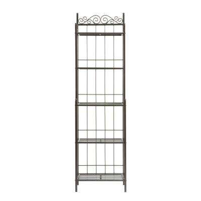 Celtic 19.25 in. W Baker's Rack in Gunmetal