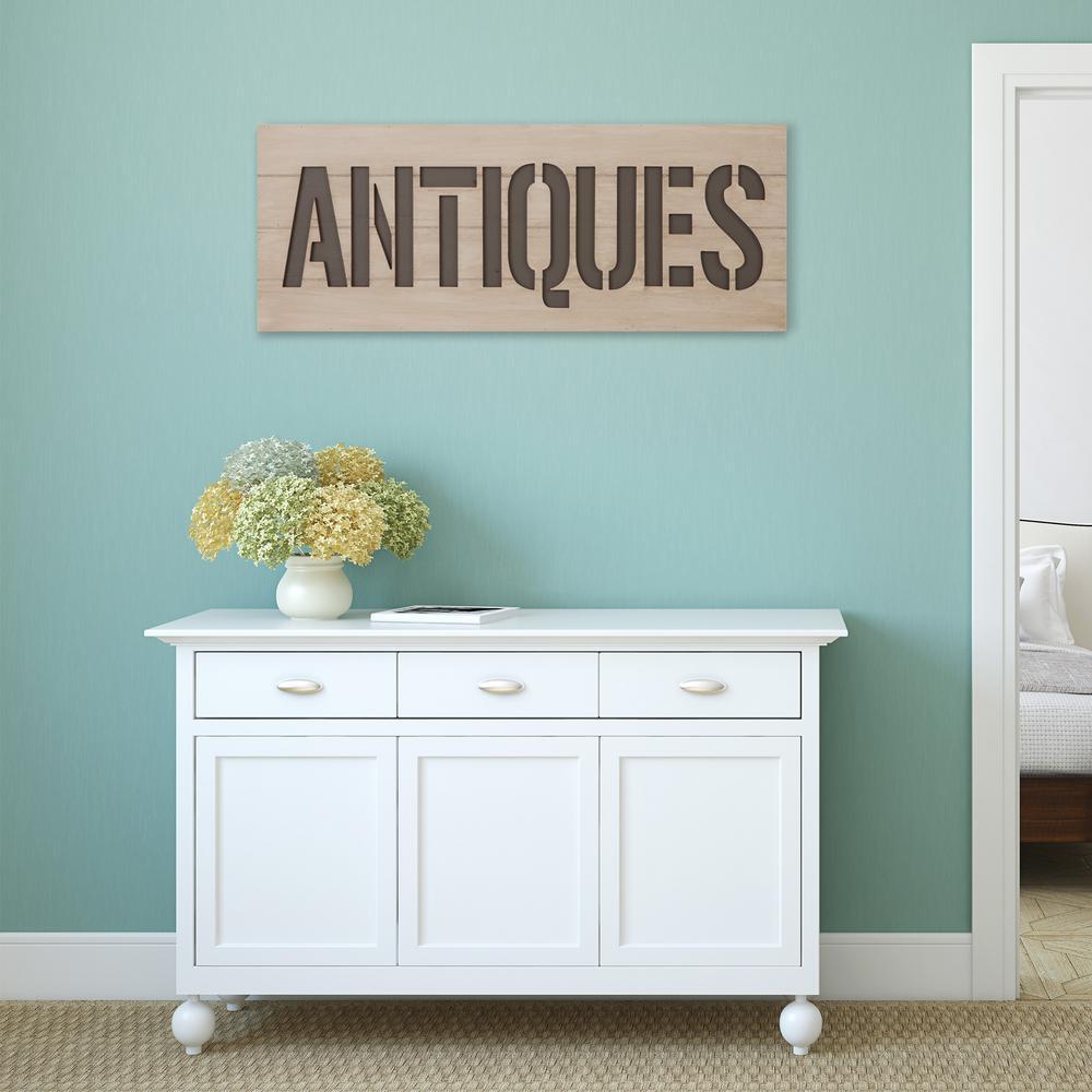 Patton Rustic Antiques Wood Decorative Sign