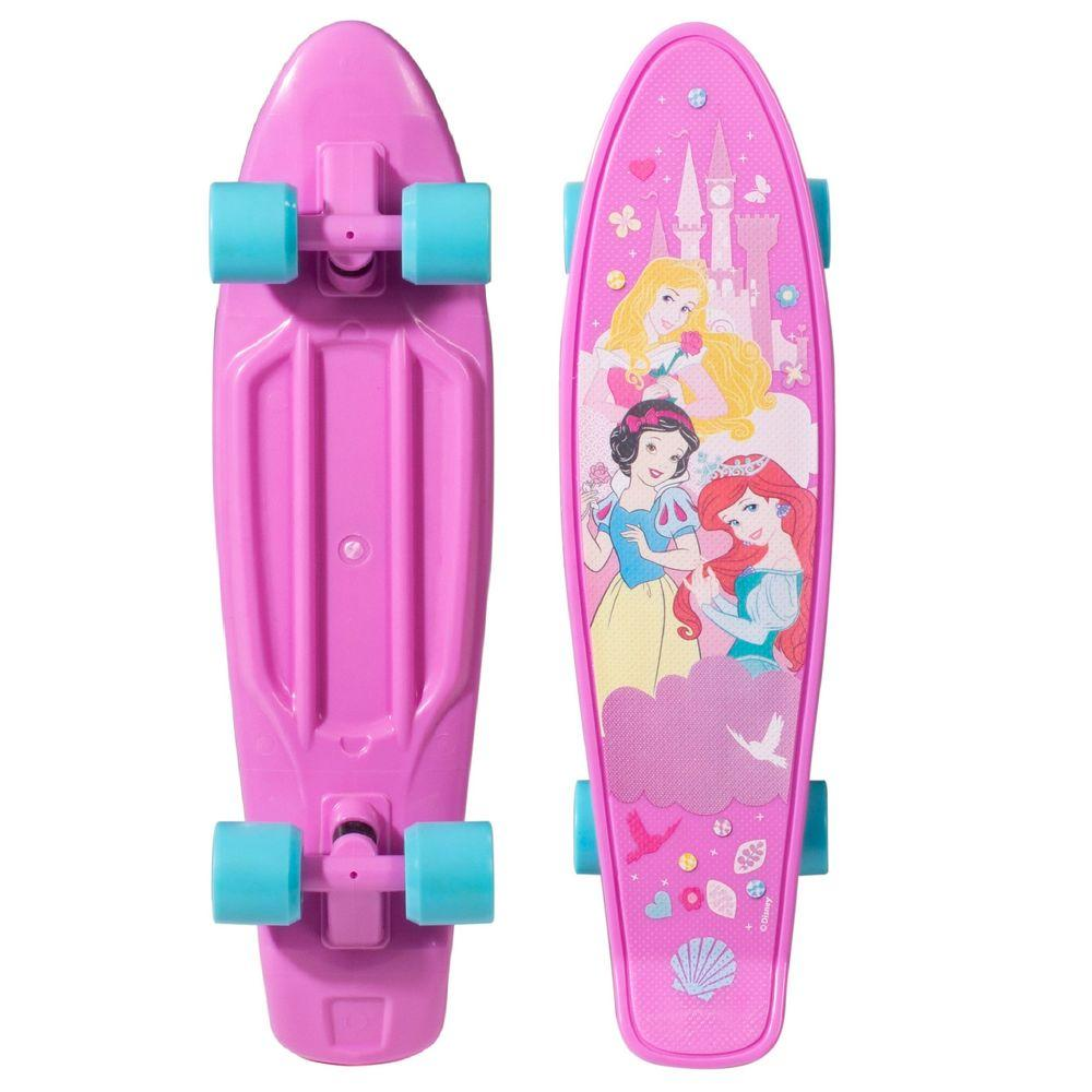 Princess 21 in. Kids Plastic Cruiser Skateboard