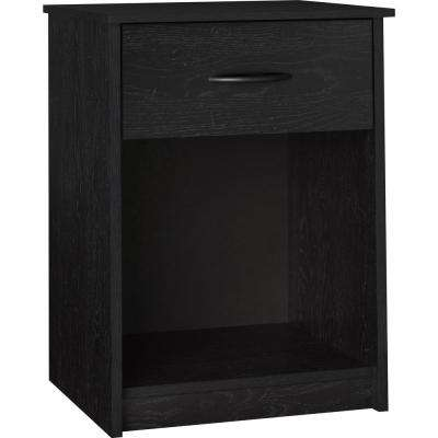 Southwood Black Nightstand