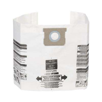 10 Gal. to 14 Gal. Dust Collection Bags for Genie and Shop-Vac Wet/Dry Vacuums (3-Pack)