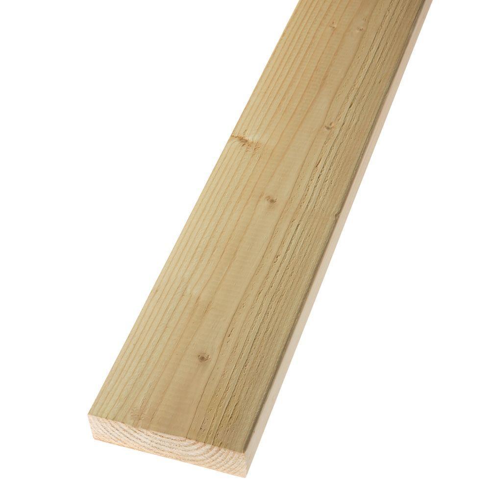 2 in. x 8 in. x 20 ft. Premium #2 and Better Douglas Fir Lumber