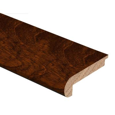 Antique Birch 3/8 in. Thick x 2-3/4 in. Wide x 94 in. Length Hardwood Stair Nose Molding Flush