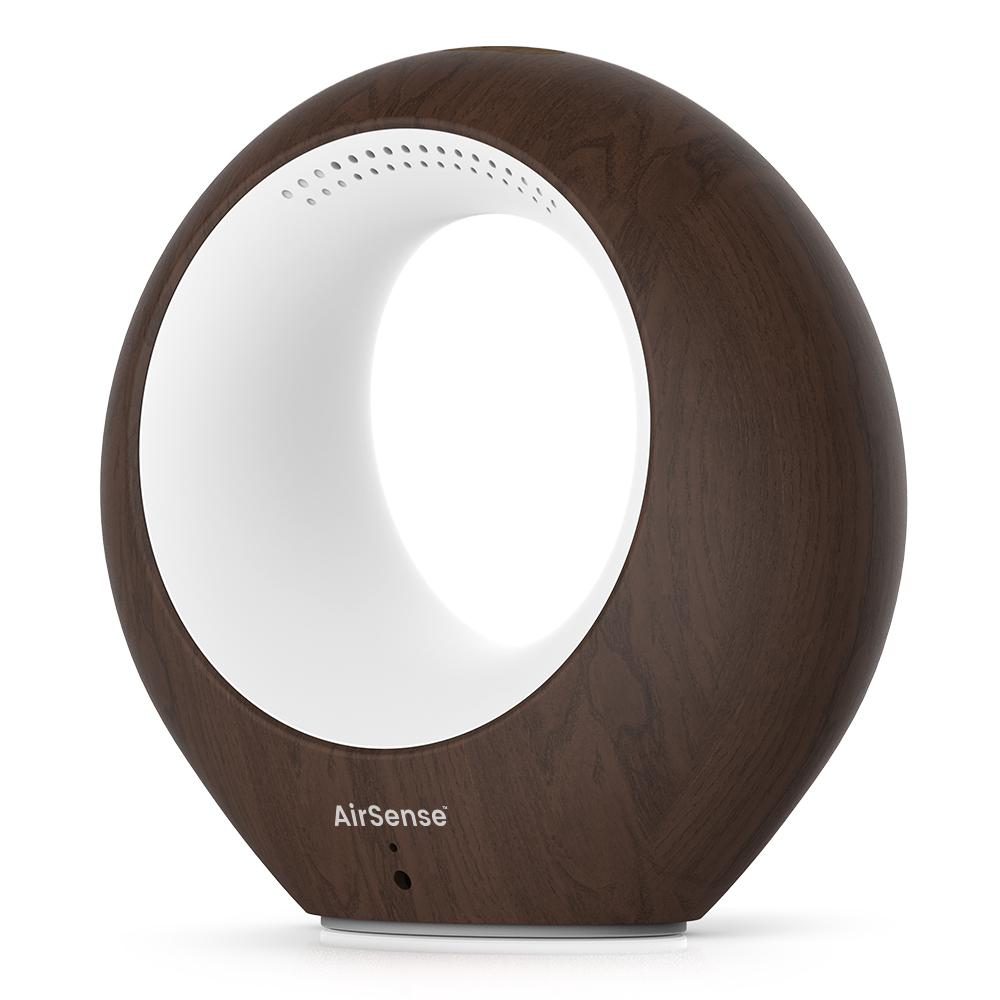 AirSense Smart Wi-Fi Air Quality Monitor and Ion Purifier, Dark