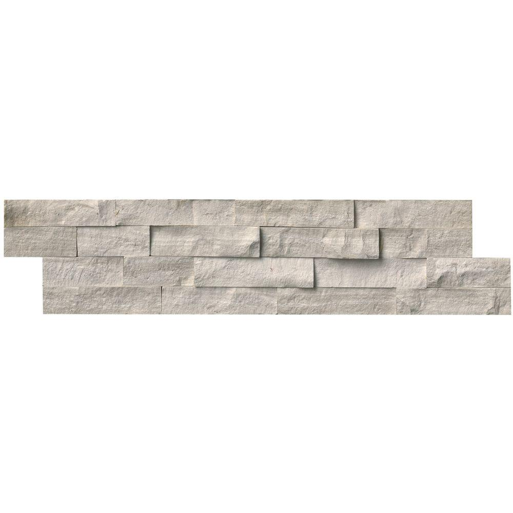 MSI Classico Oak Ledger Panel 6 in. x 24 in. Natural Marble Wall ...