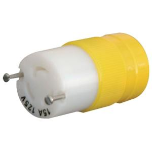 15 Amp/125-Volt Locking Type Female Connector