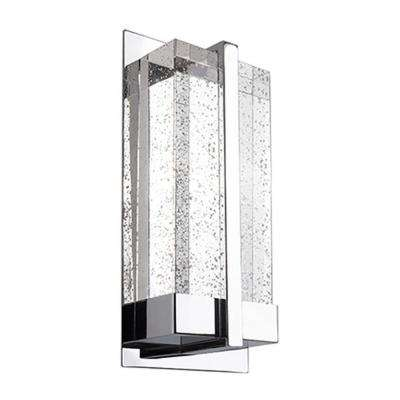 Naperville 40-Watt Equivalence Chrome Integrated LED Sconce