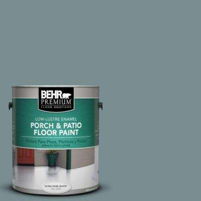 1 gal. #PFC-53 Leisure Time Low-Lustre Interior/Exterior Porch and Patio Floor Paint