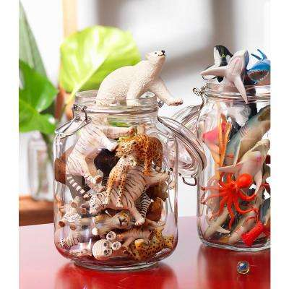 135.35 oz. Fido Glass Storage Jar (6-Pack)