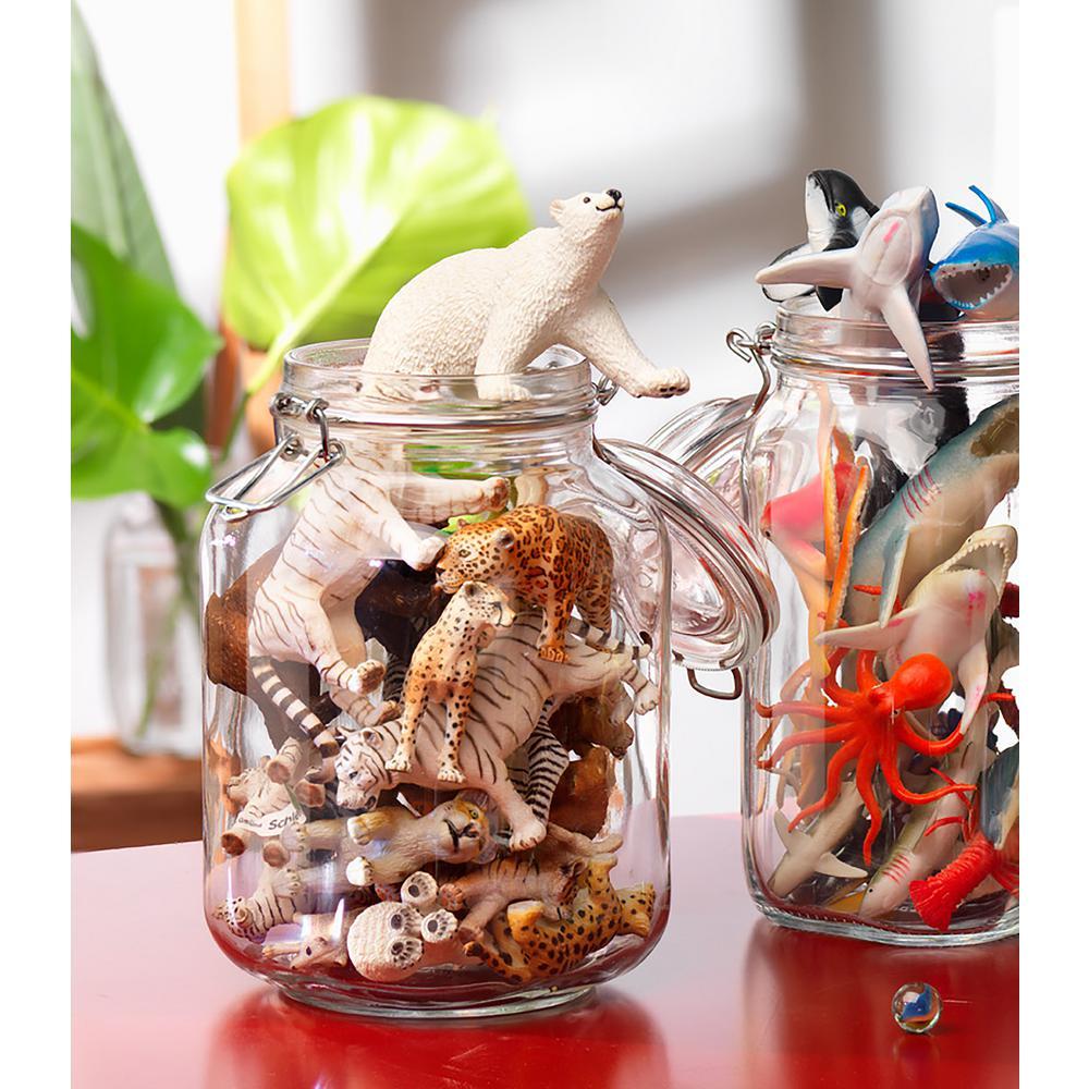 Bormioli Rocco 135.35 oz. Fido Glass Storage Jar (6-Pack) by Bormioli Rocco
