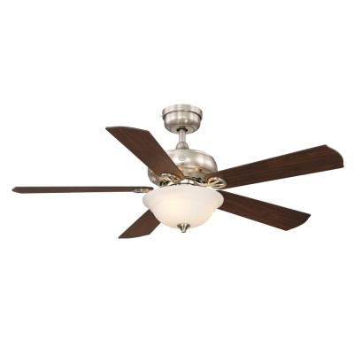 Selena 52 in. LED Indoor Brushed Nickel Ceiling Fan