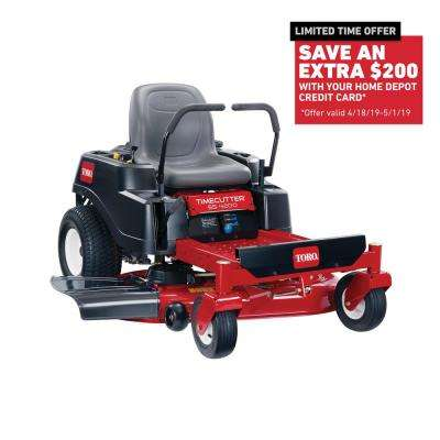 TimeCutter SS4200 42 in. 452cc Gas Dual Hydrostatic Zero-Turn Riding Mower with Smart Speed