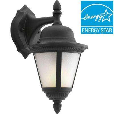 Westport Collection Wall Mount Outdoor Black Lantern