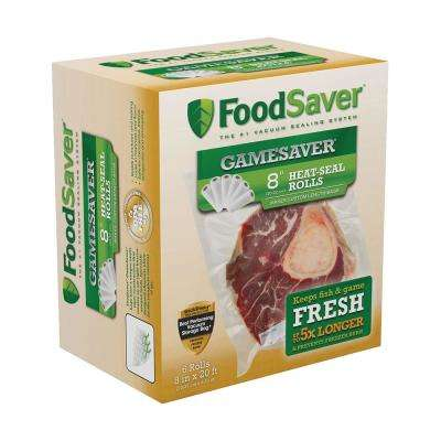 GameSaver Bag Rolls 8 in. x 20 ft. (6-Pack)