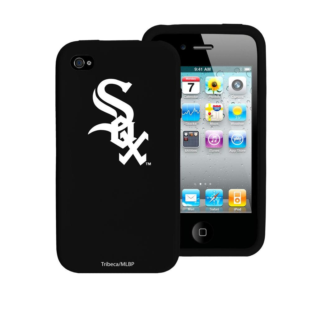 Tribeca Chicago White Sox iPhone 4 Silicone Case-DISCONTINUED