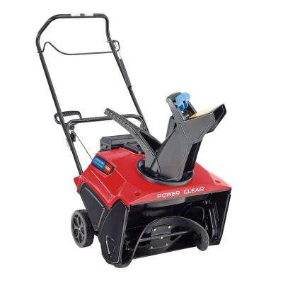 Power Clear 721 E 21 in. 212 cc Single-Stage Self Propelled Electric Start Gas Snow Blower