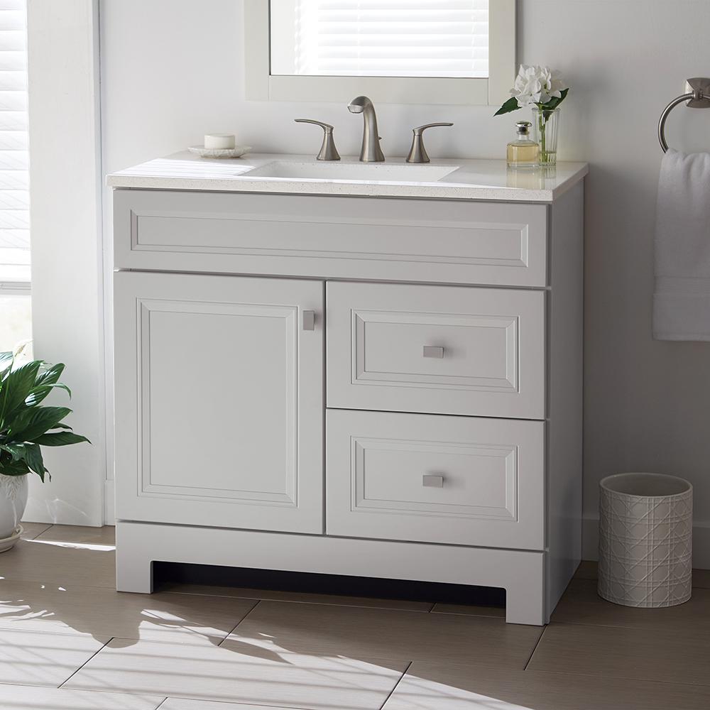 36 Inch Vanities - Home Decorators Collection - Gray ...