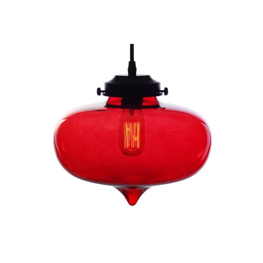 black red pendant lights lighting the home depot