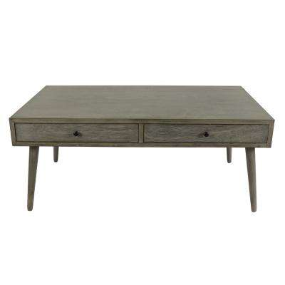 Mid Century Modern Restoration Gray Coffee Table