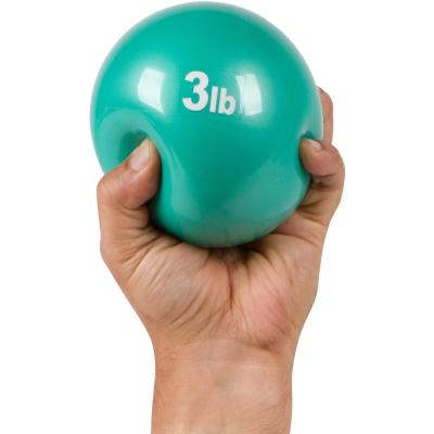 3 lbs. Weighted Exercise Toning Ball  (2-Set)