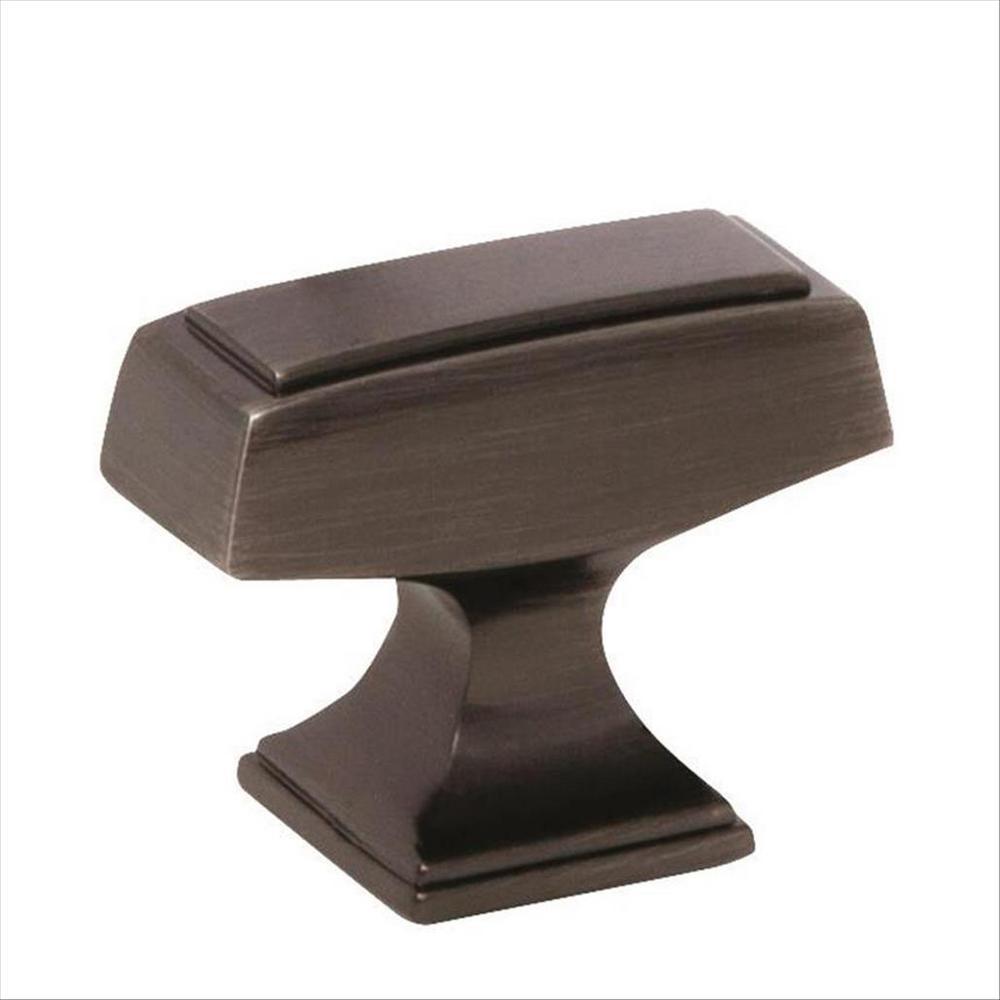Mulholland 1-1/2 in. L (38 mm) Gunmetal Cabinet Knob