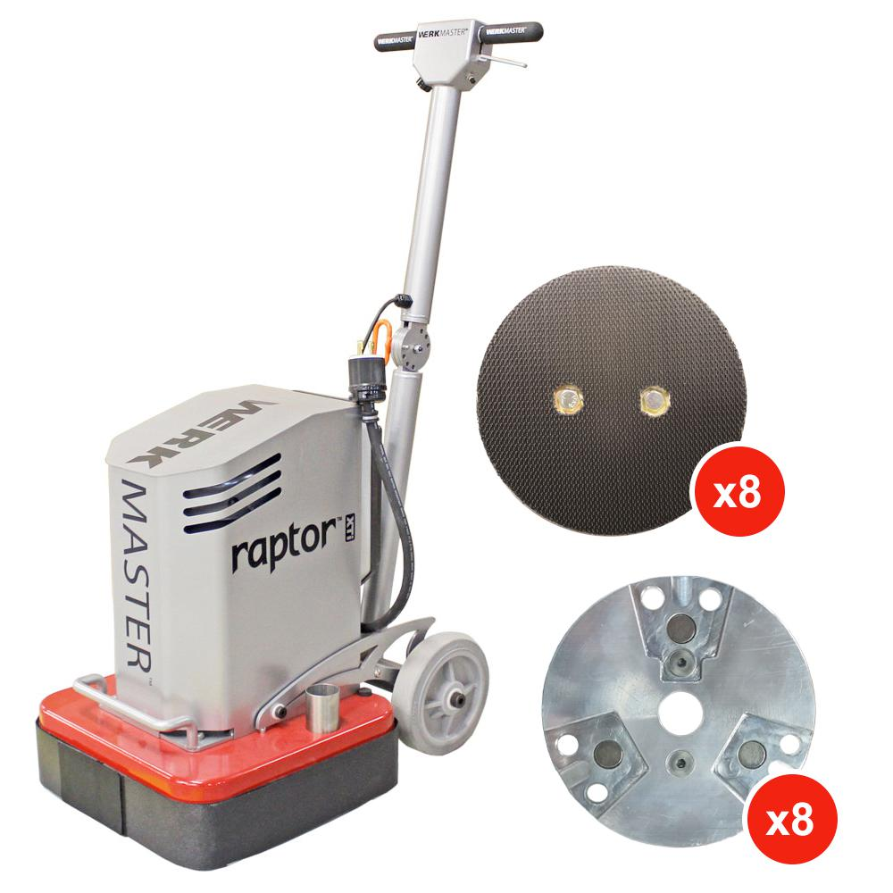 Raptor XTi Concrete Grinder Polisher