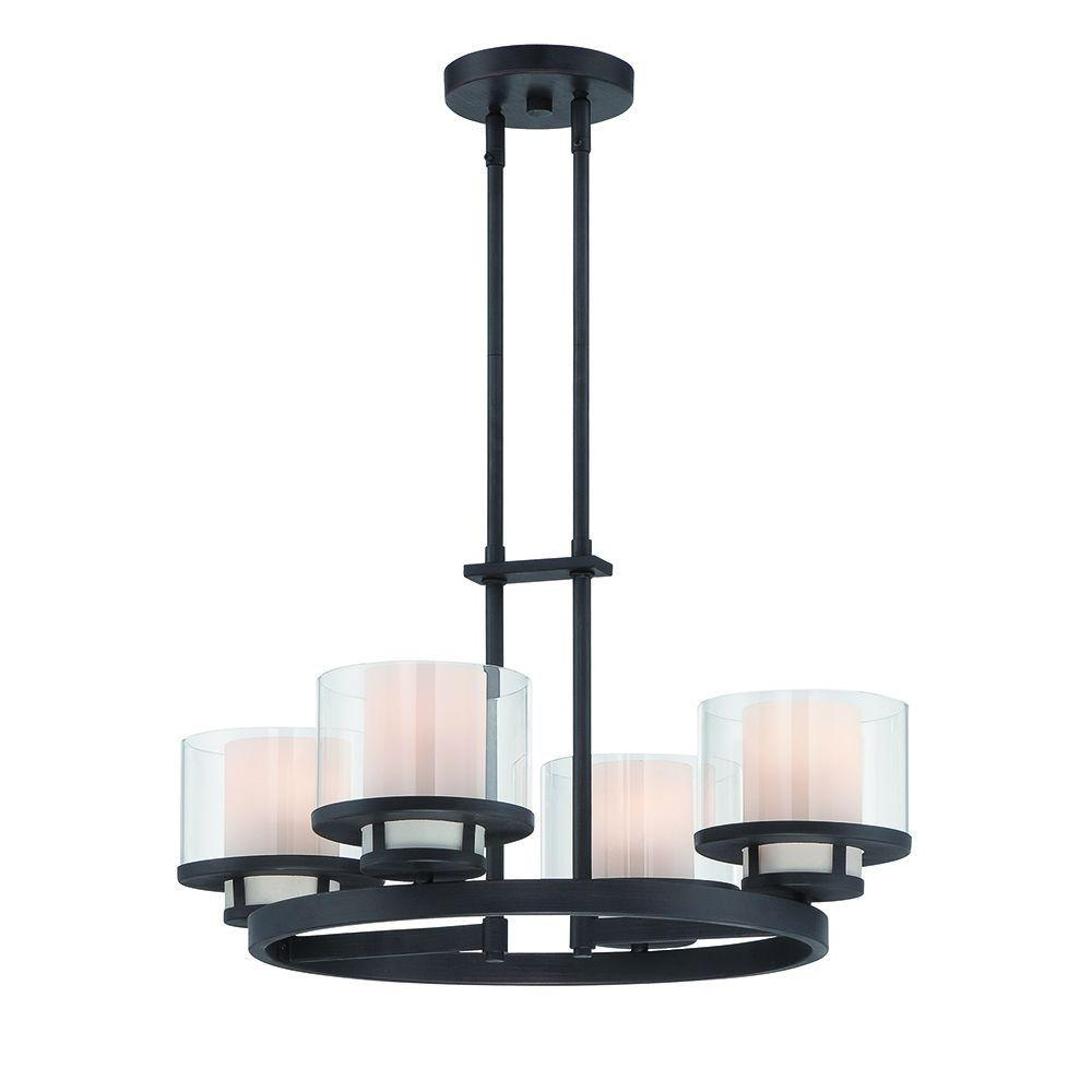 Designers fountain fusion 4 light biscayne bronze interior designers fountain fusion 4 light biscayne bronze interior incandescent chandelier aloadofball Choice Image