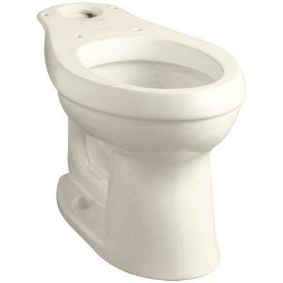 Cimarron Comfort Height Elongated Toilet Bowl Only in Biscuit