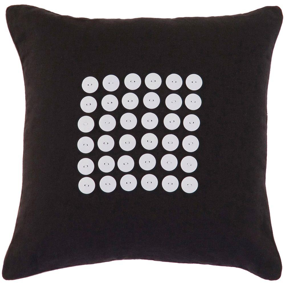 Artistic Weavers Button4 18 in. x 18 in. Decorative Down Pillow