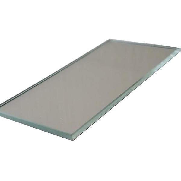 ABOLOS Subway 3 in. x 12 in. Silver Gray Glass Mirror Peel and Stick Decorative Bathroom Wall Tile Backsplash (14 sq.ft./box)