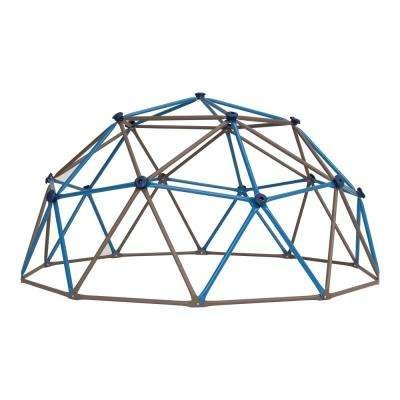 4.5 ft. H x 9 ft. W Blue and Brown Climbing Dome