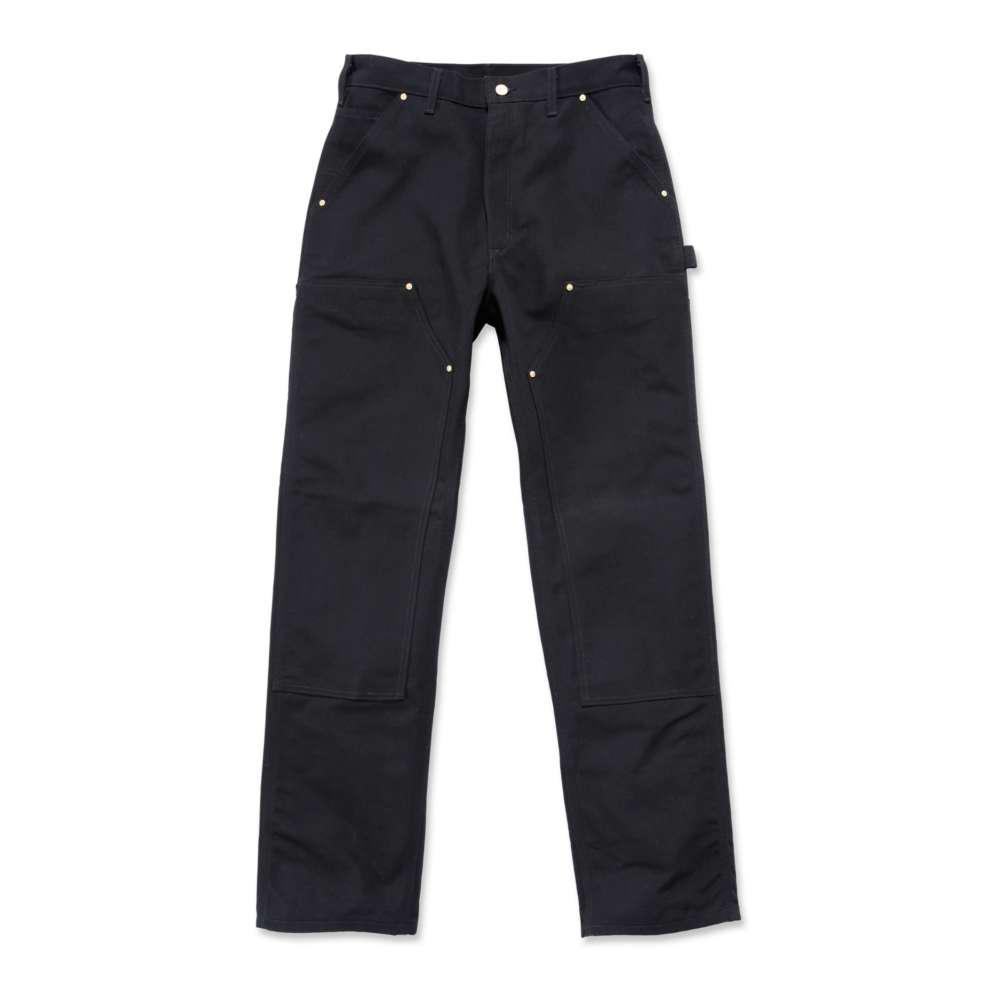 Men's 32x32 Black Cotton Straight Leg Non-Denim Bottoms